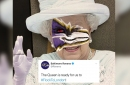 Ravens' Queen Elizabeth facepaint tweet has twitter laughing