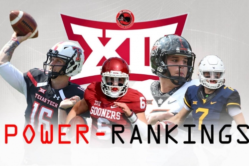 Big 12 Power Rankings: Movement in the Middle