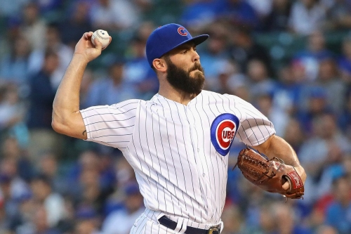 Jake Arrieta will start for the Cubs Thursday in Milwaukee