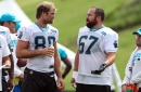 Panthers vs Saints Wednesday Injury Report: Ryan Kalil and Kelvin Benjamin sit out today's practice