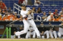 Giancarlo Stanton hits 56th homer, Marlins beat Mets for sweep