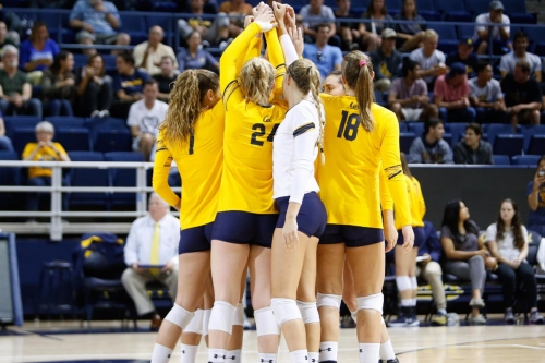Cal Volleyball opens Pac-12 play with road Big Spike