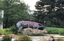 U of U students charged for reportedly painting BYU cougar statue before rivalry game