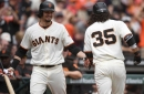 Giants, Moore blank Rockies to complete two-game sweep