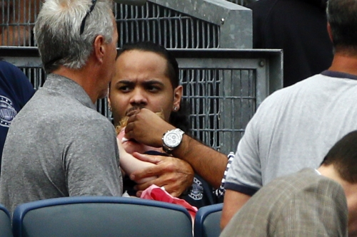 Yankees reduced to tears after little girl struck by foul ball