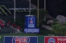 Justin Upton didn't hit a HR into the Sherwin Williams paint can: An explainer
