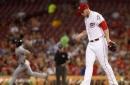 Davis starts slow, Reds fall to Cardinals, 9-2