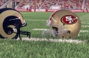 49ers-Rams Madden 18 simulation