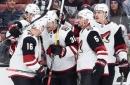 Coyotes dump Ducks in preseason opener under Tocchet