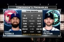 Cole Hamels on the mound in finale | Rangers Live