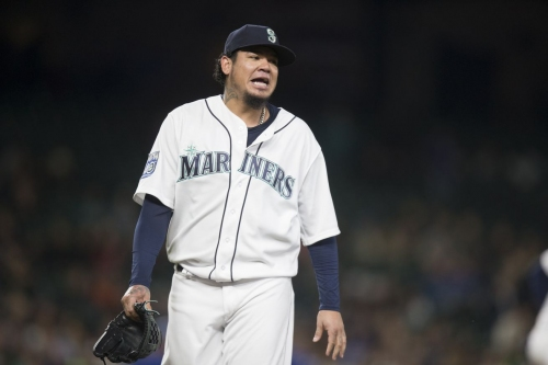 Mariners run, ultimately can't hide from own mortality, lose to Rangers 8-6