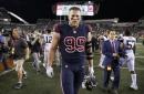 Watt dealing with broken finger as Texans prepare for Pats