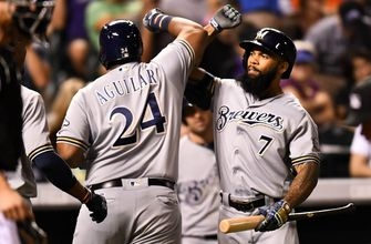 Bullpen, sluggers key to big month for Brewers