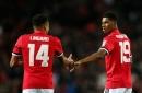 Manchester United players Marcus Rashford and Jesse Lingard set secret targets