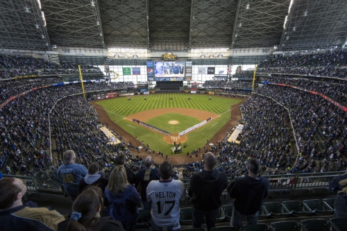 Cubs open 4-game series vs. Brewers at Miller Park