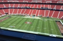 49ers roll out the black end zones