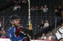 Blackhawks rout Red Wings behind Saad's hat trick