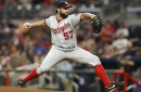 Tanner Roark solid again, but Nationals can't solve R.A. Dickey in 3-2 loss to Braves...