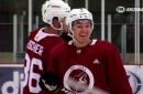 Clayton Keller's confidence grows in second Coyotes' camp