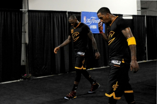 """J.R. Smith: """"I think LeBron's gonna be wherever the f**k he wanna be at!"""""""