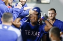 Athletics at Rangers: Messing with Texas