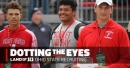 Jackson Carman gives thoughts on Ohio State, 2019 RB talking with Buckeyes