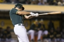 Game #153: Olson Homers Again as A's Win Fifth Straight
