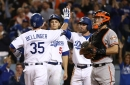 Dodgers beat Giants behind Bellinger's blast, clinch fifth consecutive NL West title
