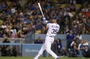 Giants lose, Dodgers clinch