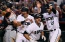 Iannetta-led D-backs outslug Marlins, move to verge of clinching