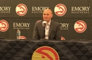 Travis Schlenk focuses on young players, competitiveness in pre-training camp address