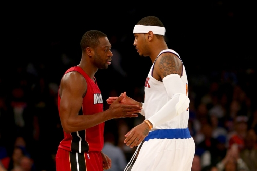 Carmelo Anthony trade fuels speculation on Wade buyout