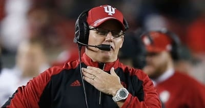 What Indiana coach Tom Allen said after the Hoosiers' 52-17 win over Georgia Southern