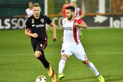 Patrick Mullins powers D.C. United to 4-0 win over San Jose