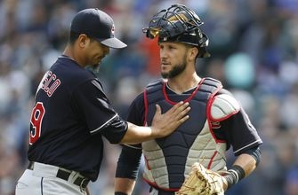 Indians snap one-game losing streak with 11-4 thumping of Mariners