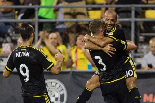 Columbus Crew SC hold on at home to defeat the New York Red Bulls 3-2