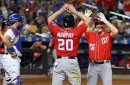 Washington Nationals 4-3 over New York Mets: Daniel Murphy's 10th inning blast lifts Nats...