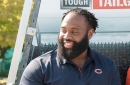 Bears DE Akiem Hicks talks being named team captain, his new contract, President Trump's statements on protesters and more