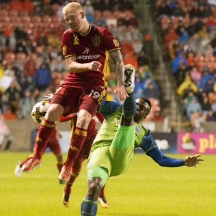 Sounders' 13-match unbeaten streak comes to end with 2-0 loss to Real Salt Lake