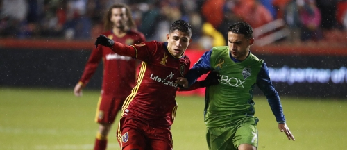 Real Salt Lake eases past Sounders for home win