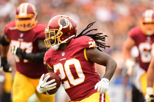 Report: Redskins RB Rob Kelley, TE Jordan Reed likely OUT vs Raiders Sunday Night