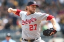 Washington Nationals' Shawn Kelley headed for more tests after nerve issue, numbness in right arm in New York...