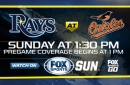 Preview: Rays try to close out series with third straight win vs. Orioles
