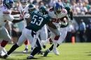 Giants-Eagles Halftime Score: Giants Trail, 7-0