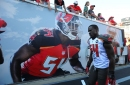 Lavonte David carted off with ankle injury