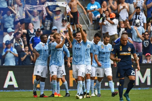 No Hangover: Sporting KC holds on for 2-1 victory over Los Angeles Galaxy
