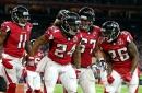 Falcons RBs split game MVP for Atlanta's win over Detroit