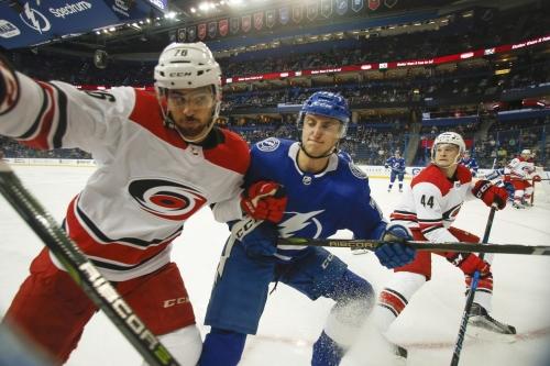 Alex Volkov scores twice as Tampa Bay Lightning fall to Florida Panthers, 4-2