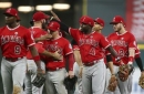 Valbuena helps Angels end skid with 7-5 win over Astros
