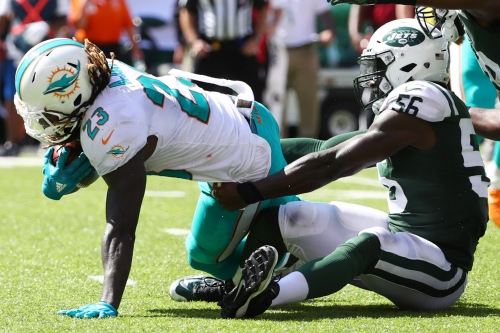 Jets linebacker played the game of his life against Dolphins
